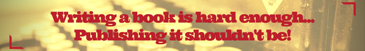 SPS - Thin Ad Banner - Writing a book is hard